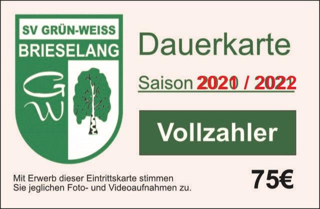Dauerkarte 2021/2022